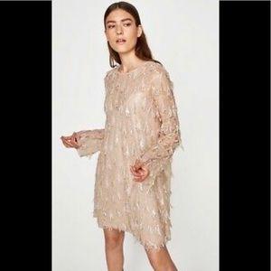 Zara Pink Sequin Dress